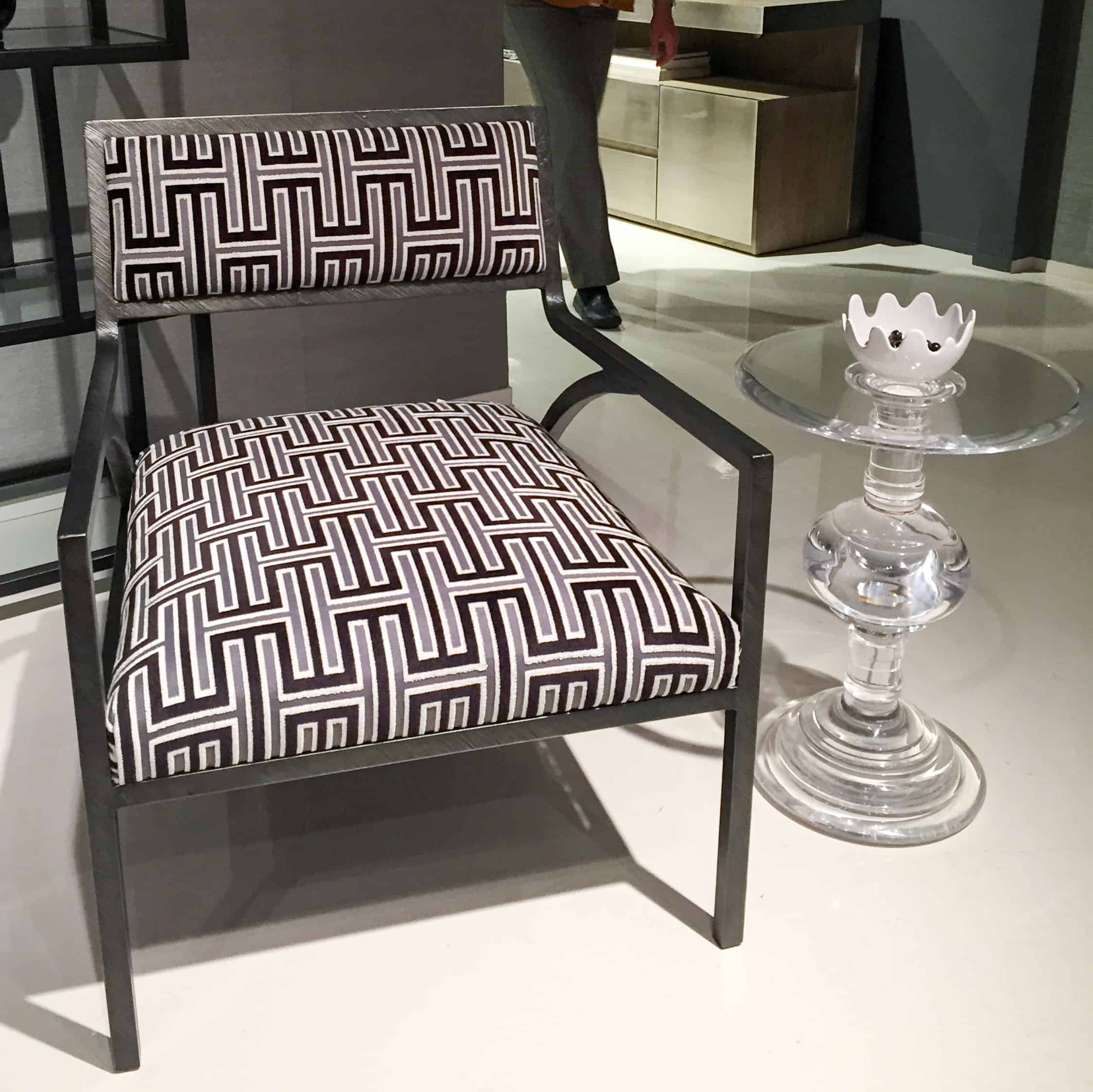 Upholstered Dining Chairs With Lucite Legs