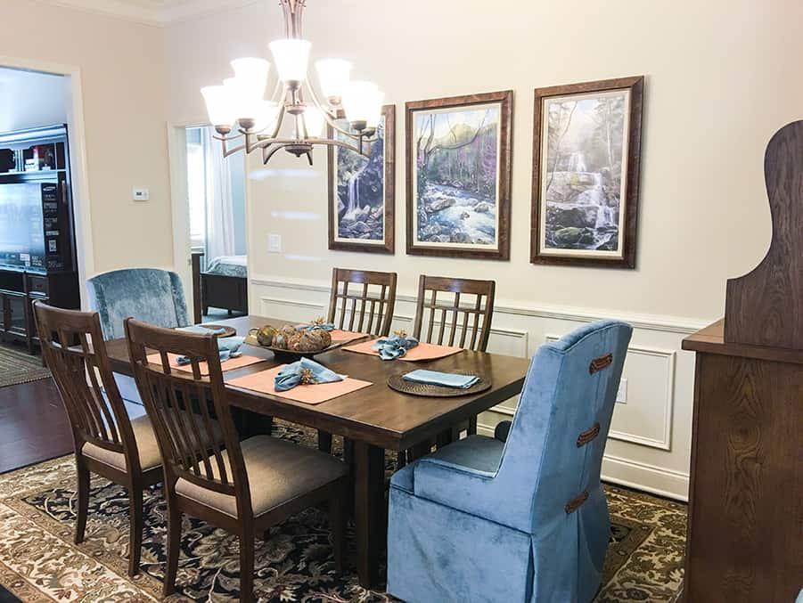 AHT Interiors Dining Room Design