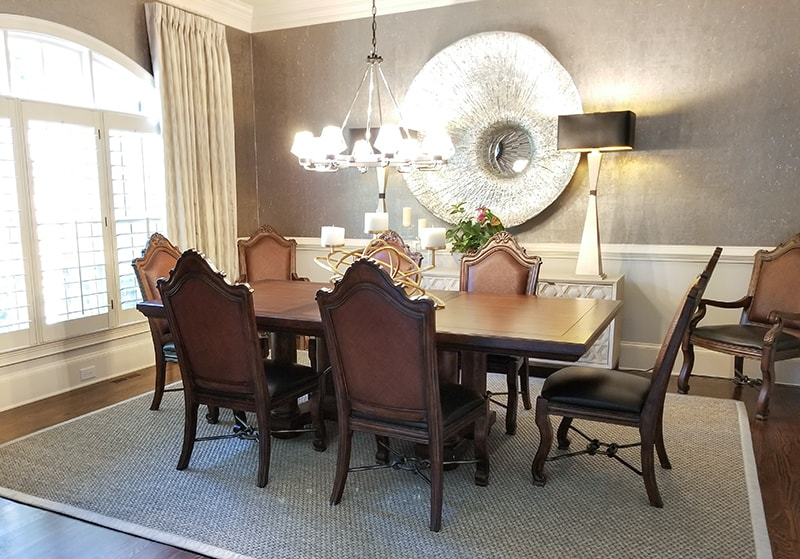 Dining Room Design - after