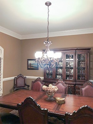 Dining Room Design - before