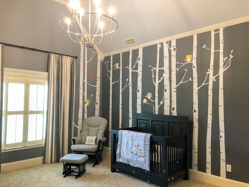 Nursery design after