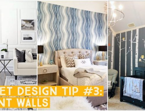 Budget Home Refresh: Accent Walls