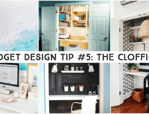 Budget Home Refresh: From Closet to Office!
