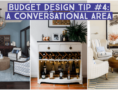 Budget Home Refresh: Dining Room to Conversational Area