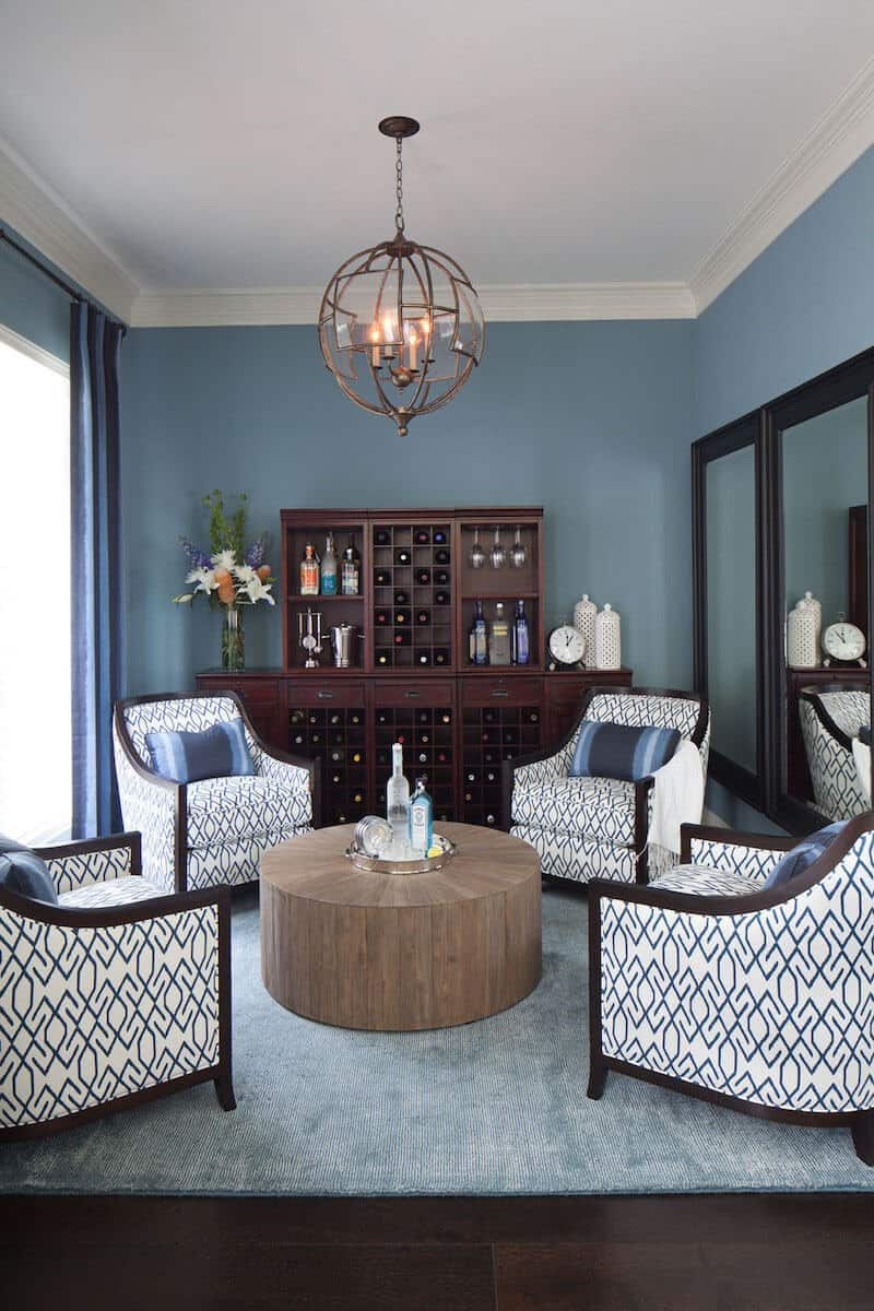 Conversational Area by Heather Scott Home - click to visit!