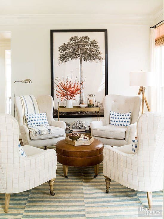 Conversational Area by The Inspired Room - Click to visit!